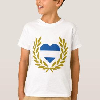 argentina-laurel-heart-2 T-Shirt
