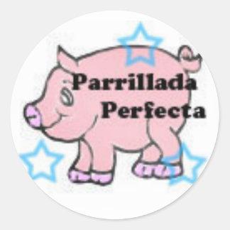 Argentina Logo copy Round Sticker