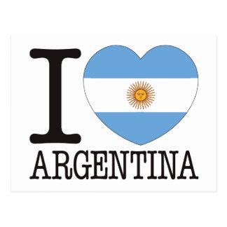 Argentina Love v2 Post Cards