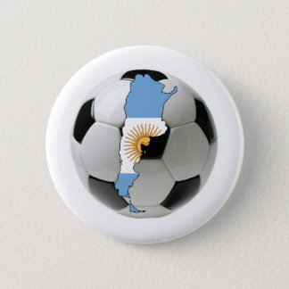 Argentina national team 6 cm round badge