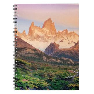 Argentina, Patagonia, Los Glaciares National Park Notebooks