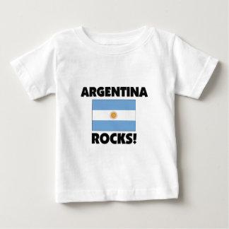 Argentina Rocks Baby T-Shirt