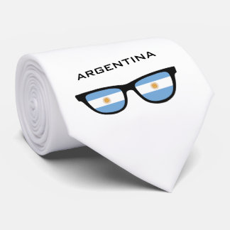 Argentina Shades custom text & color tie