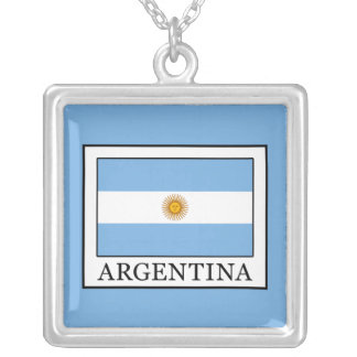 Argentina Silver Plated Necklace