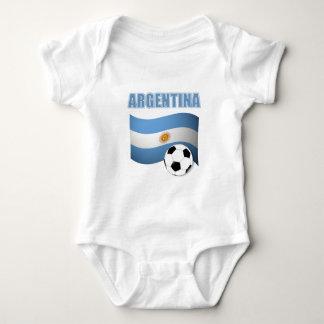 Argentina Soccer 1139 Baby Bodysuit