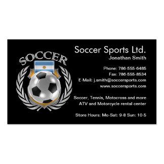 Argentina Soccer 2016 Fan Gear Pack Of Standard Business Cards
