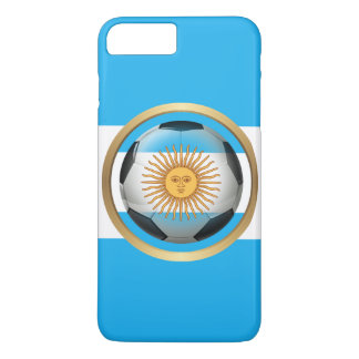 Argentina Soccer Ball iPhone 8 Plus/7 Plus Case