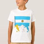 Argentina Soccer Players T Shirt