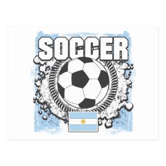 Argentina Soccer Post Card