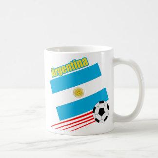 Argentina Soccer Team Basic White Mug