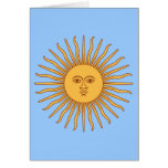 Argentina Sol de Mayo Greeting Card