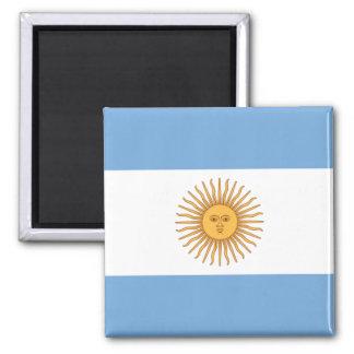 argentina square magnet