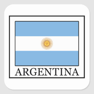 Argentina Square Sticker