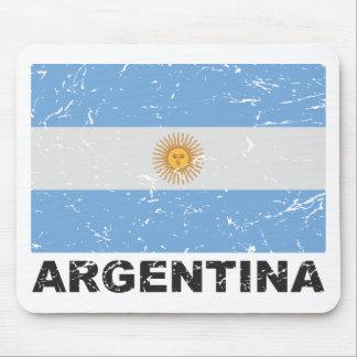 Argentina Vintage Flag Mouse Mat