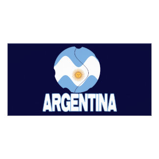 argentina wc 3000 custom photo card