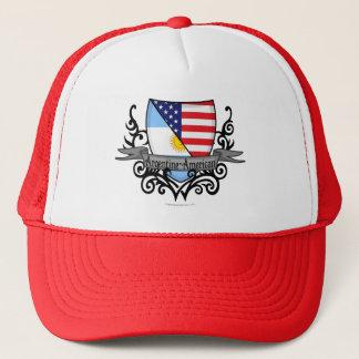 Argentine-American Shield Flag Trucker Hat