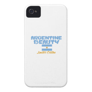 Argentine beauty designs iPhone 4 cover