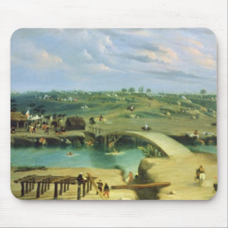 Argentine Camp on the other side of the San Lorenz Mouse Mat