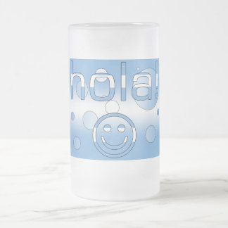 Argentine Gifts : Hello / Hola + Smiley Face Coffee Mugs