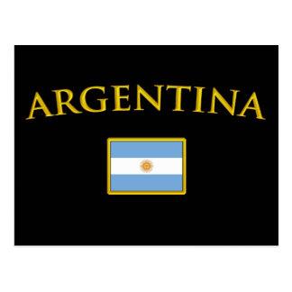 Argentine Gold Postcard
