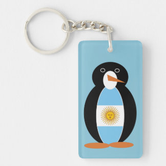 Argentine Penguin Key Ring
