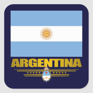 """Argentine Pride"" Square Sticker"