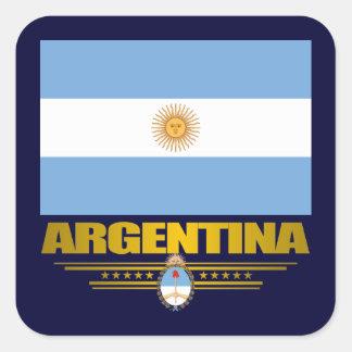 """""""Argentine Pride"""" Square Sticker"""