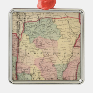 Argentine Republic, Chili, Uruguay and Paraguay Christmas Ornament