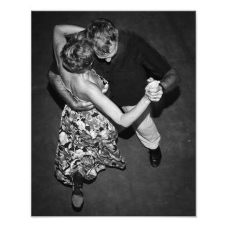 Argentine Tango Dancers Photo Print
