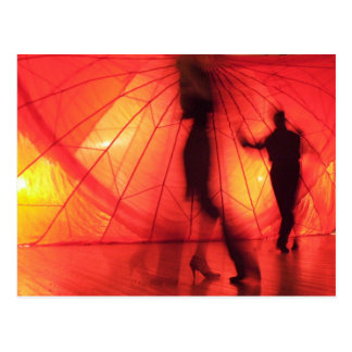 Argentine Tango Dancers Postcard