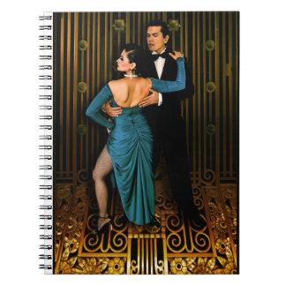 Argentine tango Deco Notebook
