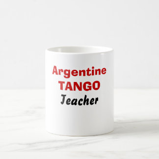 Argentine, TANGO, Teacher Basic White Mug