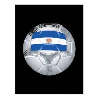 Argentinean Soccer Ball Postcard