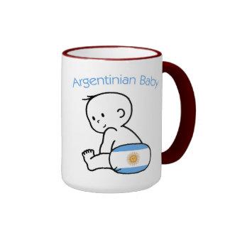 Argentinian Baby Mugs