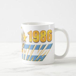 Argentinian flag 1978 1986 World Champions gear Mugs