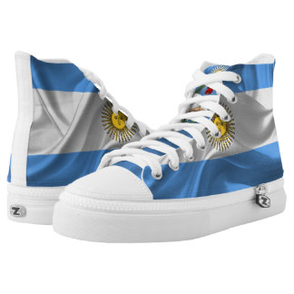 Argentinian flag high tops