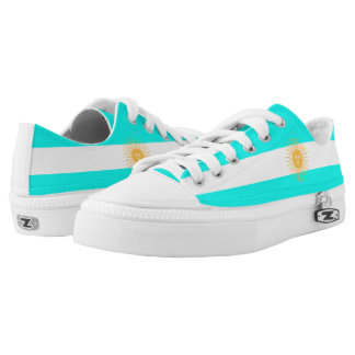 Argentinian flag low tops