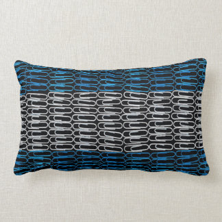 Argentinian Flag of Paperclips Pillow