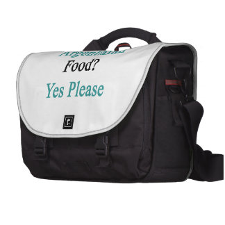 Argentinian Food Yes Please Bags For Laptop