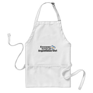 Argentinian Girl Apron