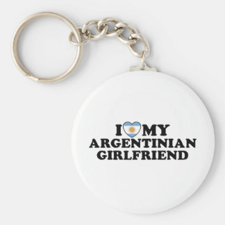 Argentinian Girlfriend Key Ring
