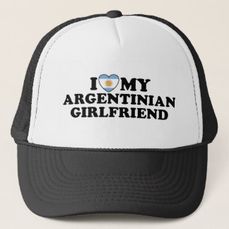 Argentinian Girlfriend Trucker Hat