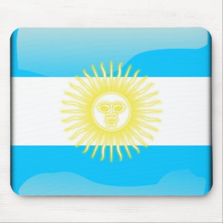 Argentinian glossy flag mouse mat