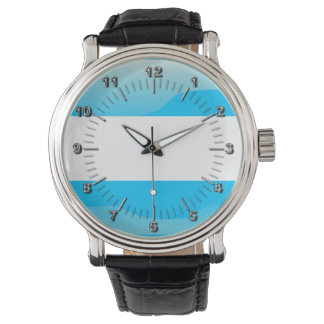 Argentinian glossy flag watch