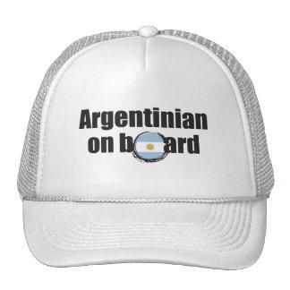 Argentinian on Board Cap