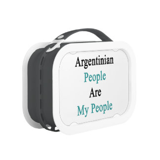 Argentinian People Are My People Lunch Boxes