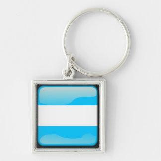 Argentinian polished key ring