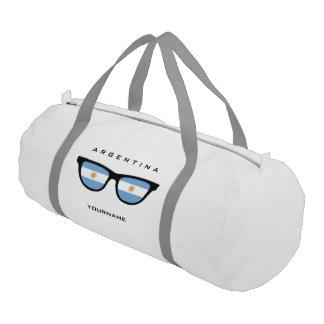 Argentinian Shades custom duffle bags