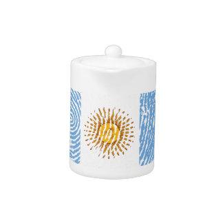 Argentinian touch fingerprint flag