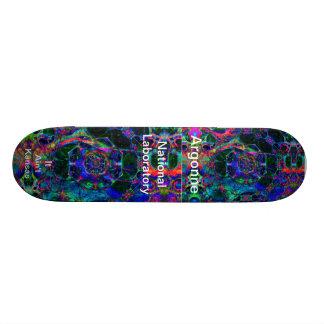 Argonne - Time Travel Through the Worm Hole Skate Deck